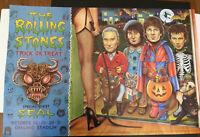 Bill Graham Presents Rolling Stones 1994 Halloween Poster Mick Jagger