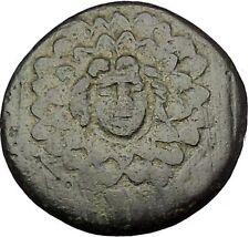 AMISOS in PONTUS MITHRADATES VI the GREAT Gorgon Aegis Nike Greek Coin i54137
