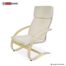 Schwingsessel Schwingstuhl natur Relaxstuhl Freischwinger Sessel Stuhl Ruhestuhl