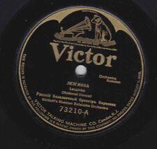 Kirillof's Russian Balalaika Or on 78 rpm Victor 73210: Lezginka/Pa d'Espagn