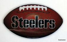 New NFL Licensed Pittsburgh Steelers 3D Car Truck Magnet Football Shaped League