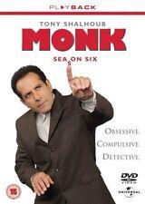 Monk Season 6 DVD R4
