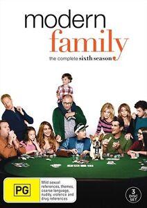 Modern Family SEASON 6 : NEW DVD