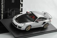 1:18 GT2 RS Porsche 911 997 2010 silber carbon diecast Autoart Neu OVP 77961