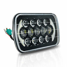 "105W 7X6 5x7"" LED Light Bulb Headlight Headlamp for Jeep Cherokee XJ Trucks"