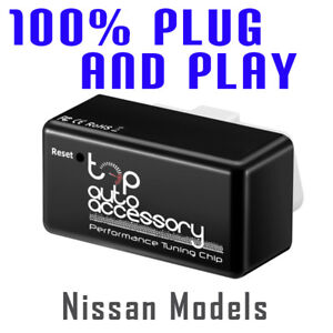 Performance Tuning Tuner Speed OBDII OBD2 OBD II 2 Chip Module ECU for Nissan