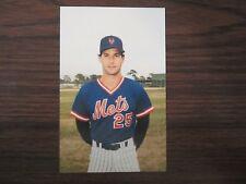 1986 Tcma New York Mets Danny Heep Postcard