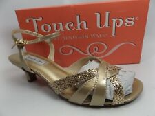 Touch Ups Women's Jane Ankle-Strap Sandal,Champagne Glitter, SZ 10.0 WIDE, 11240