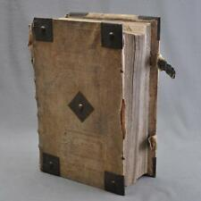 Luther Bible / Biblia,Cotta édition,Tübingen 1729,groß-folio,11,6 kg ! 46x30cm