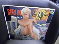 Peter Todd Berlin After Dark LP MGM [Yellow Label] Records VG+ [Cheesecake]