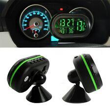 Car LED Backlight Digital Display 2 Thermometer Voltmeter Alarm Clock Date IM