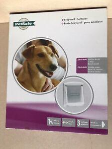 PETSAFE STAYWELL DOG DOOR / FLAP MEDIUM WHITE