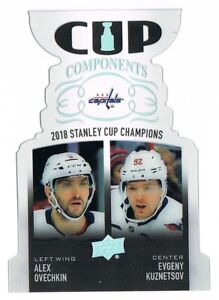 2019-20 Upper Deck UD Cup Components Clear Acetate Inserts Pick From List !!