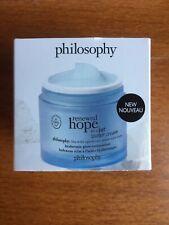 PHILOSOPHY RENEWED HOPE IN A JAR Water Cream Glow Moisturizer 2 oz /60ml New