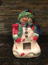 Lefton Snowman People Treater/Candy Dispenser