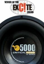 CRITICAL MASS UL12 AUDIO SUBWOOFER SPEAKER SUB BEST Jl FOCAL MOREL HERTZ $14K W7