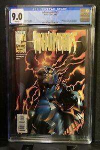 Inhumans Vol 2 #5 | CGC 9.0 | 1st New Black Widow Yelena Belova MCU Marvel