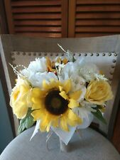 Wedding flowers bridal bouquets decorations sunflowers Package free ship'g