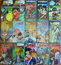 Wholesale Lot of 15 Anime VHS VIdeo Tape From Funimation New Dubbed in English