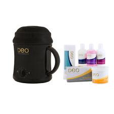030451K Deo Professional 1000cc Starter Wax Waxing Heater Pot Warmer Kit BLACK