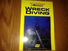 Scuba Schools International Wreck Diving Specialty Diver Manual USA Berg