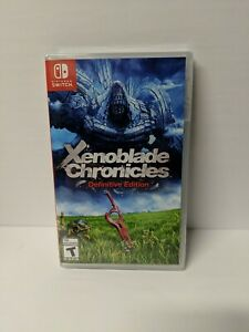 XENOBLADE CHRONICLES: Definitive Edition - Nintendo Switch NEW SEALED FREE SHIP