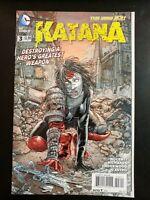 KATANA #3a (2013 The New 52, DC Comics) ~ VF/NM Comic Book