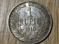 1 Rupie Deutsch Ostafrika 1910 J#447#