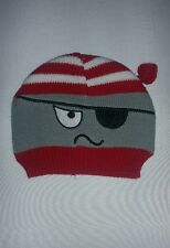 NWT So' Dorable infant Knit Hat 0-6 months Pirate holiday Hat