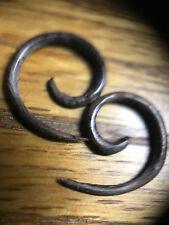 Pair Small 12G (2Mm) Spirals Sono Wood Stretchers Talons Plugs Ear Plug