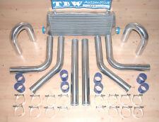 Ladeluftkühler SET *NEU* 33tlg Kit: LLK 45x18, Rohre 64 mm,Schellen,Schläuche b