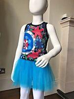 DESIGUAL Girls Sea Fantasy Vest Top Size 3 4 5 6 7 8 9 10 11 12 13 LMT WHIMSY