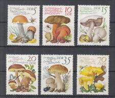 Aland Togo 2000 Mushrooms Fungi Plants Nature 6v Set Mnh