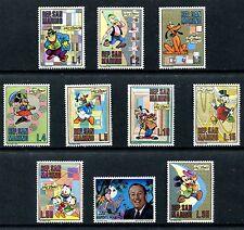 Santa Marino 736-745, MNH, Disney characters cartoonist & film maker x10504