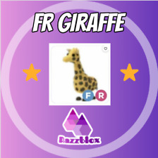 ⭐CHEAP + FAST⭐ Adopt*Me FR Fly Ride Giraffe | Virtual Item