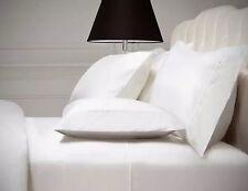 Kirkland Signature 540 TC Cotton Sateen Queen Sheet Set 4 Pillowcases White