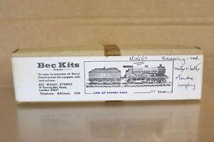 BEC KITS TT GAUGE KIT BUILT LMS 4-4-0 CLASS 2P LOCOMOTIVE & TENDER KIT 2