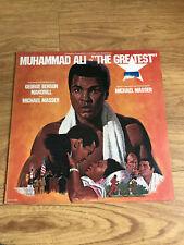 "OST - Muhammed Ali in ""The Greatest"" Vinyl LP 1977"