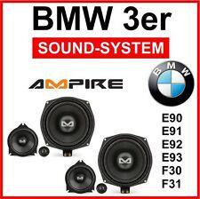 BMW 3er Lautsprecher Boxen 3-Wege Front-System Plug `n Play Ampire BMW-S1