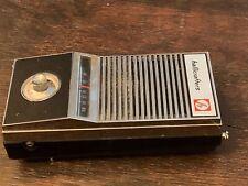 VINTAGE HALLICRAFTERS Crx-107 Handheld Ham AM RADIO RECEIVER PARTS UNTESTED
