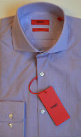 NWT HUGO Red Label By Hugo Boss Sharp Fit Checked Dress Shirt Size 15 32/33