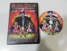 BLOOD DOLLS LA VENGANZA DE LOS MUÑECOS CHARLES BAND  DVD ESPAÑOL ENGLISH TERROR