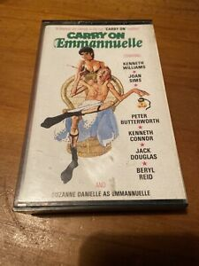 CARRY ON EMMANUELLE - Betamax Video - 1st issue Pre-Cert (Picture Time Video)