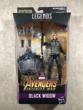 Marvel Legends Infinity War Black Widow (Cull Obsidian BAF) 6? Action Figure