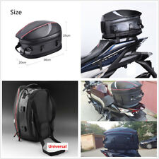 Motorcycle Tail Bag Rear Seat Travel Luggage Shoulder Pocket Box Bag Max. 16-21L