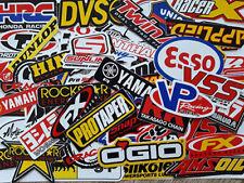 Motocross Dirt Bike Motorcycle and Car Racing Decal Vinyl Sticker 80 pcs.#MT001