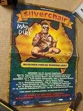 VINTAGE 1997 SILVERCHAIR OFFICIAL PROMO POSTER, AUSTRALIAN TOUR POSTER