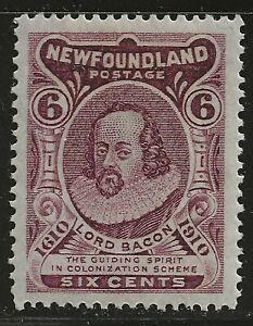 NEWFOUNDLAND #98 MH - engraved, perf 14, VF/XF