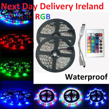 10M 3528 Waterproof IP65 SMD RGB 300 LED Strip Fairy Party Lights Lamp Remote