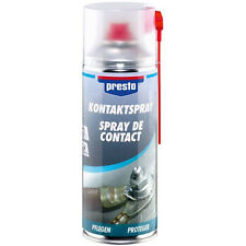 Kontaktspray 157141 PRESTO 400 ml Spray Kontakt Spray Elektroverbindungen